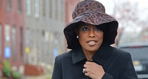Mayor Stephanie Rawlings-Blake stands at a news conference earlier this month. Stephanie Rawlings-Blake on Wednesday proposed a new fund to spur the development of affordable housing in the city. (The Daily Record / Maximilian Franz)