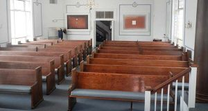 Beth Shalom Synagogue in Frederick. (Photo submitted by Mackintosh Commercial.)