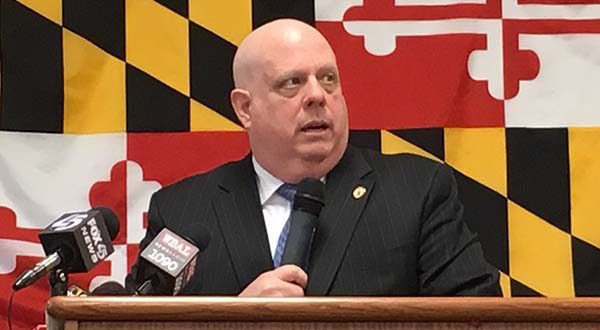 Some Maryland high school students will have an opportunity to earn a college degree and move almost instantly into jobs under the expansion of a public-private partnership, Gov. Larry Hogan announced Monday.(The Daily Record / Maximilian Franz)