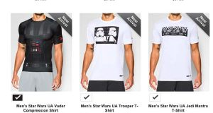 Under Armour says they didn't forget about women in Star Wars collection