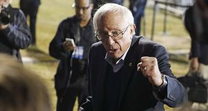 Sen. Bernie Sanders, I-Vt. (AP Photo/John Locher)