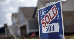 The National Association of Realtors said Wednesday that its seasonally adjusted pending home sales index fell 0.9 percent to 106.9 last month. It was the lowest reading in 10 months. Still, the index has risen 2.7 percent from a year ago. (AP Photo/Mark Humphrey, File)