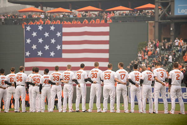 Orioles Opening Day 2015 106MF