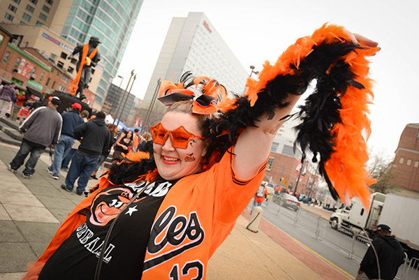 Orioles Opening Day 2015 72MF