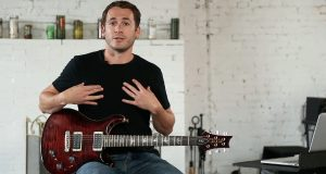 Michael Palmisano, founder and CEO of Guitargate. (Photo submitted by Guitargate).