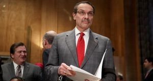 Then-Washington D.C. Mayor Vincent Gray in September 2014. (J. Scott Applewhite/AP File Photo)