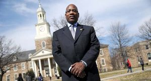 Dr. David Wilson, president of Morgan State University. (File)