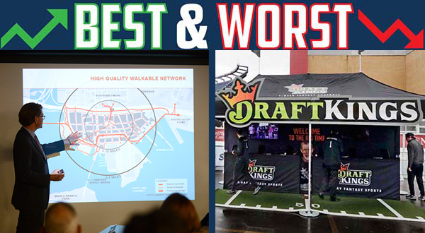 Best Week, Worst Week: Redevelopment good news for Baltimore; Fantasy sports players sacked by Senate president