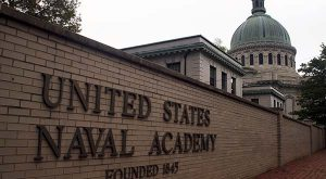 This 2007 file photo shows the U.S. Naval Academy in Annapolis, Md. (AP Photo/Kathleen Lange, File)