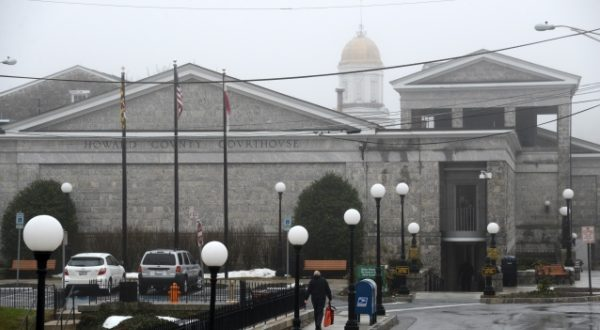 The Howard County Circuit Court building was constructed in the 1840s and had its last major upgrades 30 years ago. Howard County Executive Allan H. Kittleman announced plans earlier this month to build a new circuit courthouse in Ellicott City. 'It's an amazing part of Howard County history,' he says of the current courthouse, 'but it just doesn't meet the needs of our citizens and our businesses.' (Maximilian Franz/The Daily Record)