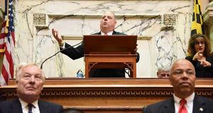 Hogan sounds bipartisan tone in State of the State speech