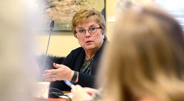Senator Nancy King, co-chair of the Joint Oversight Committee on Gaming said three bills introduced on the subject are in limbo and legislation would not likely be ready in time to put the issue before voters, should lawmakers decide to legalize it. (File)