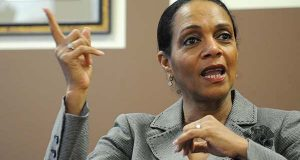Former Baltimore Mayor Sheila Dixon released her economic development plan, portraying large property tax cuts proposed by other candidates as irresponsible. (The Daily Record File)
