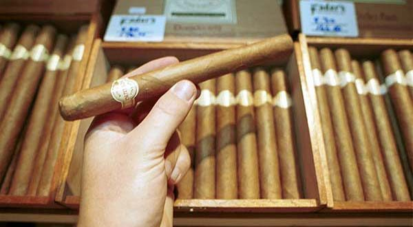 Cigars at Fader'sEric Stocklin 11-99
