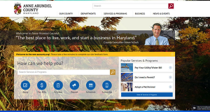 Md. IT firm builds new website for Anne Arundel County