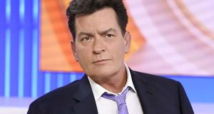 "In this Tuesday, Nov. 17, 2015 photo, actor Charlie Sheen appears during an interview on NBC's ""Today"" show in New York, saying he tested positive four years ago for the virus that causes AIDS. A new study released Monday, Feb. 22, 2016 found that Sheen's revelation prompted the greatest number of HIV-related Google searches recorded in the United States since 2004. (Peter Kramer/NBC via AP)"