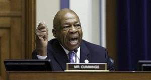 In this July 17, 2014 file photo, Rep. Elijah Cummings, D-Md., speaks on Capitol Hill in Washington. (AP Photo/J. Scott Applewhite, File)