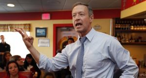 "Former Maryland Gov. Martin O'Malley defended the 'zero tolerance' approach again Wednesday, saying the Justice Department Report report did not account for improvements, including ""historic reductions in violent crime"" under his watch. (Jim Cole/AP file photo)"