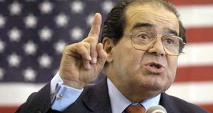 University chief defends naming law school for Scalia