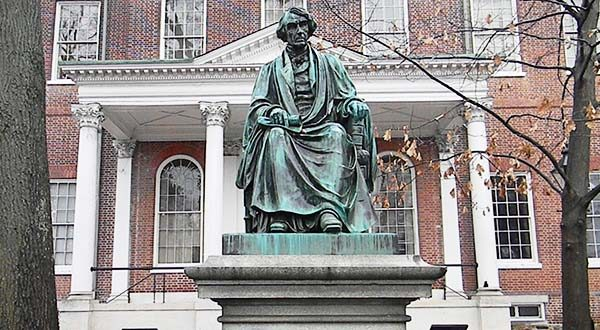 Legislation moving through Annapolis could put a statue of Supreme Court Chief Justice Roger Brooke Taney, a Maryland native known for writing the pro-slavery Dred Scott opinion, in jeopardy. (Capital News Service photo / Connor Glowacki)