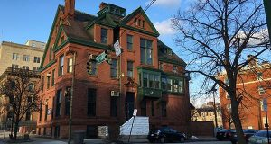 This historic Baltimore mansion was converted to primarily office space