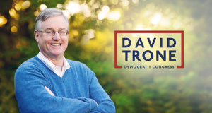 A campaign photo of David Trone, a Democrat who was elected last month to Maryland's 6th Congressional District.