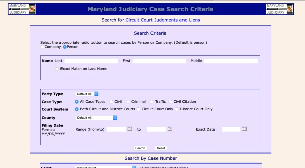 Judiciary removes police information from Case Search