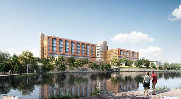 rendering submitted By Adventist HealthCare.