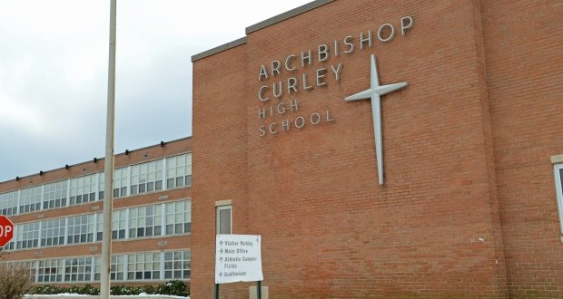 Archbishop Curley High School (Maximilian Franz/The Daily Record)