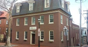 The three-story building at 50 State Circle in downtown Annapolis has potential for offices.