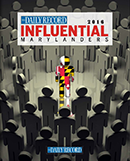 Influential Marylanders cover image 2016