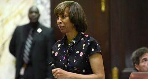 State Sen. Catherine Pugh, one of the candidates to succeed Rawlings-Blake as mayor, said mass transportation issues in the city eventually must be dealt with. (File)