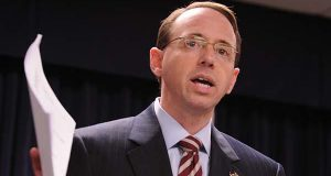U.S. Deputy Attorney General Rod J. Rosenstein. (File photo)
