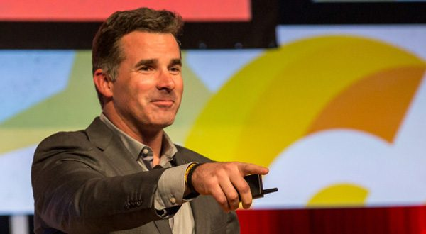 Under Armour CEO Kevin Plank sponsors the Cupid's Cup entrepreneurship competition at the University of Maryland, College Park. (Photo from Cupid's Cup).