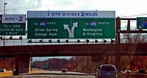 "(Flickr / Taber Andrew Bain / ""I-270 Divides 2 Miles"" / CC BY 2.0 / Cropped and Resized)"