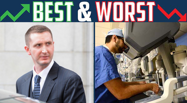 Best Week, Worst Week: Nero acquitted of Freddie Gray charges; surgical robot maker taken to court