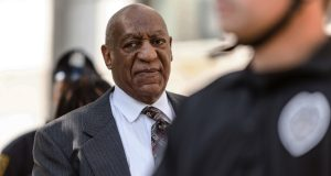 Bill Cosby arrives for a preliminary hearing on whether prosecutors have enough evidence to put him on trial on charges he drugged and sexually assaulted a woman over a decade ago, at the Montgomery County Courthouse, in Norristown, Pa., Tuesday, May 24, 2016. (James Robinson/PennLive.com via AP)