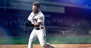 NL MVP Bryce Harper has extended his contract with Under Armour, the brand announced Tuesday. (photo: Under Armour)