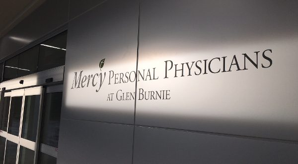 Mercy Personal Physicians at Glen Burnie will open in June 2016. (Photo from Mercy Medical Center)
