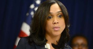 'She walked on the edge, but I am going to give her the benefit of the doubt,' one criminal defense lawyer says of Baltimore City State's Attorney Marilyn J. Mosby, seen at a press conference earlier this month, pursuing charges against six police officers in connection with the death of Freddie Gray. But another lawyer says Officer Edward Nero's acquittal shows Mosby 'is a prosecutor who is bent on promoting herself rather than the city.' (Maximilian Franz/The Daily Record)