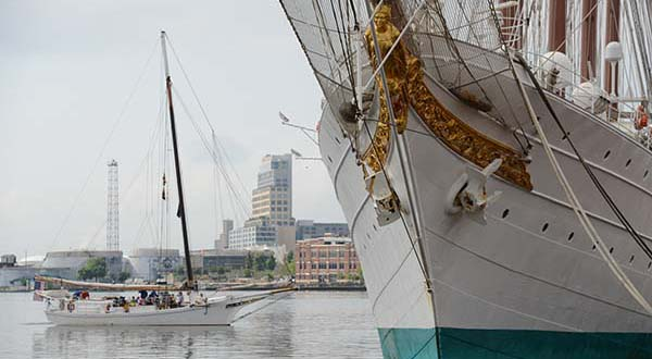 PHOTOS: Spanish tall ship docks in Baltimore