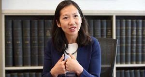 Dr. Leana Wen, Baltimore's health commissioner. (The Daily Record / Maximilian Franz)