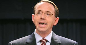 U.S. Deputy Attorney General Rod J. Rosenstein. (File)