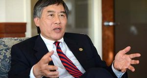 University of Maryland, College Park, President Wallace Loh. (File)