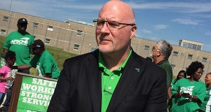 Patrick Moran, president of AFSCME Council 3. (File / The Daily Record)