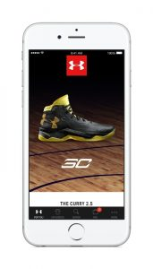UA Shop, Under Armour's new shopping app, is available on the App Store. (PRNewsFoto/Under Armour, Inc.)