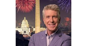 A Capitol Fourth was hosted by Tom Bergeron.  (PRNewsFoto)