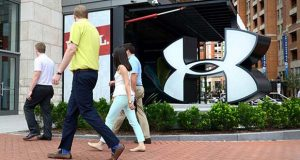 An Under Armour store in Harbor East. (File)