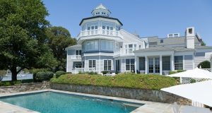 This $9 million Annapolis estate is headed for auction in September. (Photo by Sean Shanahan)