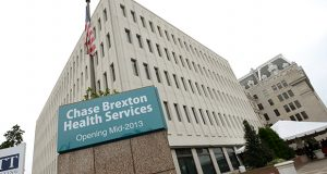 The Chase Brexton Health Services Mt. Vernon Center. (Maximilian Franz/The Daily Record).